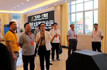 City Committee Chairman Liu Gengling Lead time to visit YS solar